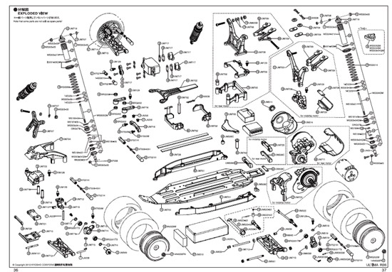 kyosho rb6 exploded diagram oople com forums rc car circuit diagram electric rc car diagram #24