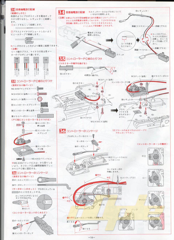Kyosho gx 15 Manual